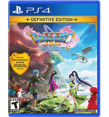 DRAGON QUEST XI S: Echoes of an Elusive Age Definitive Edition (PS4)