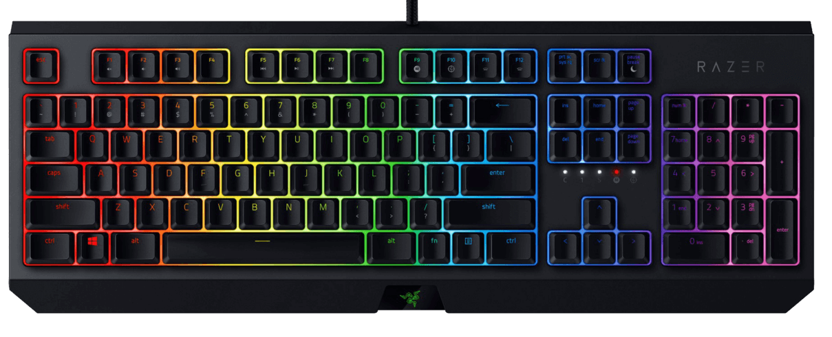 Razer Blackwidow Chroma - Green Switch