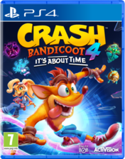 Crash Bandicoot 4: It's About Time arabic used