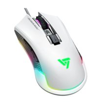 VicTsing Pro RGB Gaming Mouse - White