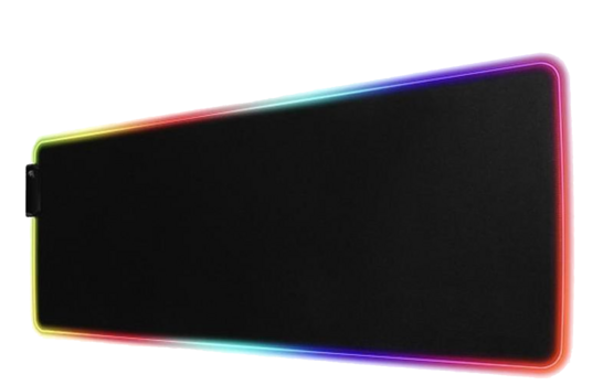 Multicolor LED Technozone Gaming Mouse Pad