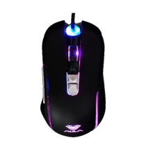AULA 960S LED COLOR WIRED GAMING MOUSE