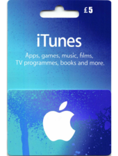Apple iTunes Gift Card United Kingdom 5 UK iTunes