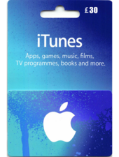 Apple iTunes Gift Card United Kingdom 30 UK iTunes
