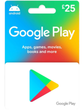 Google Play Gift Code 25 UK