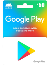 Google Play Gift Code 50 UK