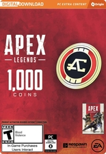 Apex Legends 1000 Coins PC Origin