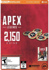 Apex Legends 2150 Coins PC Origin