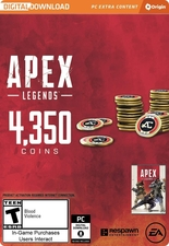 Apex Legends 4350 Coins PC Origin