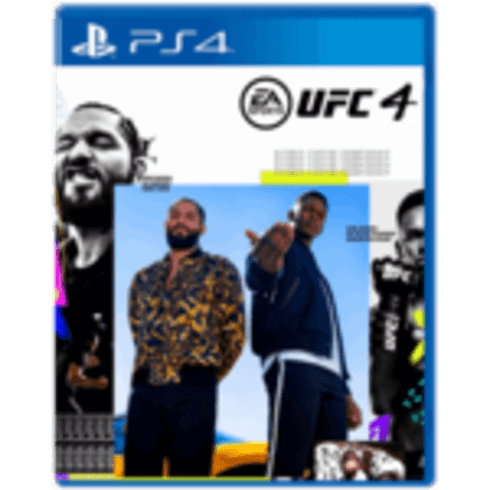 UFC 4 - PS4 Used