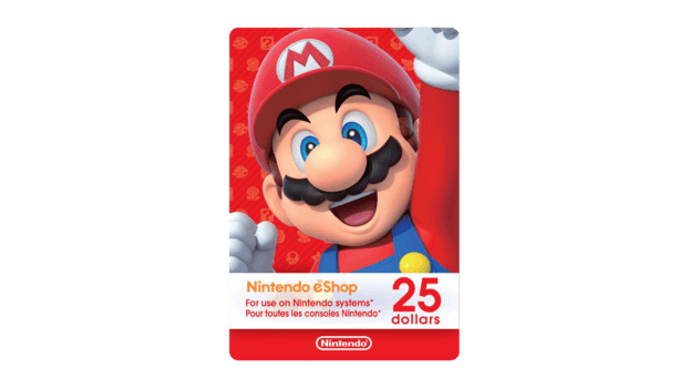 Nintendo E-Shop 25$ USA