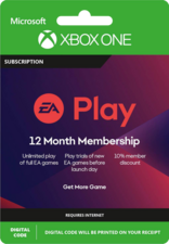 EA Play - 12 months Xbox One Digital code