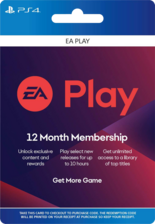 Playstation EA Play 12 Month ( USA ) digital code
