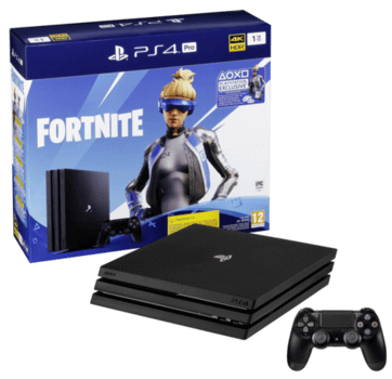 Playstation 4 Pro 1TB + Fortnite voucher code