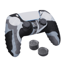 SPARKFOX PS5 Silicone Grip Pack FPS Edition - Camo Grey