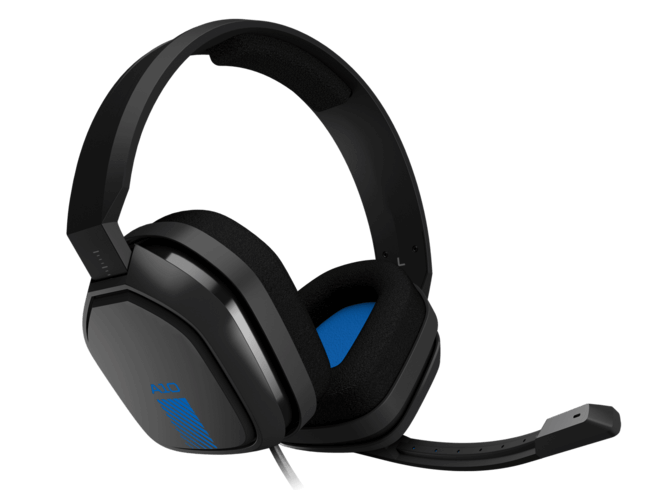 Astro A10 Gaming wired Headset - Blue and Black