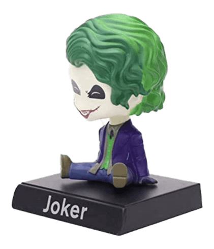 Joker Big Bobble Head - Action Figure with Holder for Car Dashboard