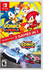 Sonic Team Racing + Sonic  Mania Double Pack 2 in 1 - Nintendo Switch