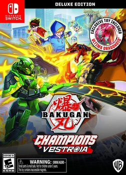 Bakugan champions of vestroia deluxe edition - nintendo switch