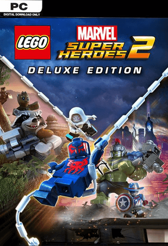 LEGO Marvel Super Heroes 2  Deluxe Edition - PC Steam Code