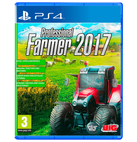 Professional Farmer 2017 Gold Edition -PS4 USED