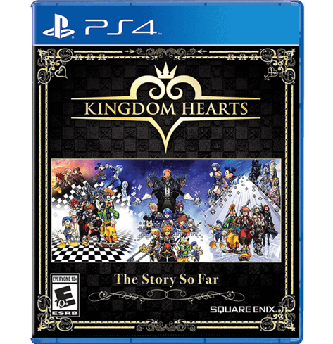 Kingdom Hearts The Story So Far PS4-USED
