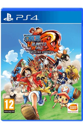 One Piece: Unlimited World Red - Deluxe Edition- PS4 Used