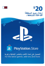 Qatar PSN Wallet Top-up 20 USD