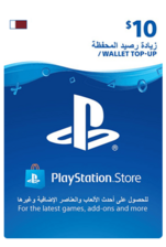 Qatar PSN Wallet Top-up 10 USD