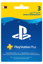Qatar PlayStation Plus: 3 Month Membership