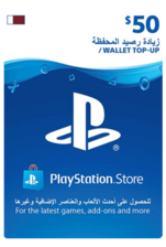 Qatar PSN Wallet Top-up 50 USD