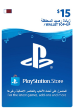 Qatar PSN Wallet Top-up 15 USD