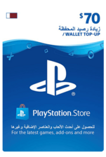 Qatar PSN Wallet Top-up 70 USD
