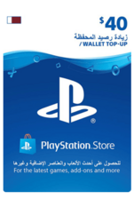 Qatar PSN Wallet Top-up 40 USD