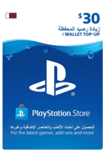 Qatar PSN Wallet Top-up 30 USD