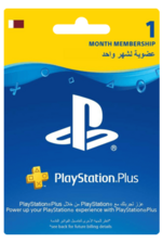 Qatar PlayStation Plus: 1 Month Membership