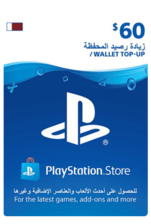 Qatar PSN Wallet Top-up 60 USD
