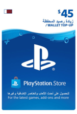 Qatar PSN Wallet Top-up 45 USD