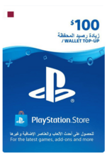Qatar PSN Wallet Top-Up 100 USD