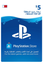 Bahrain PSN Wallet Top-up 5 USD