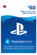 Bahrain PSN Wallet Top-up 60 USD