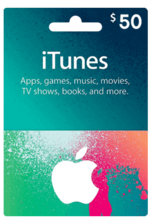 Apple iTunes Gift Card US 50$