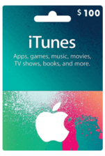 Apple iTunes Gift Card US 100$