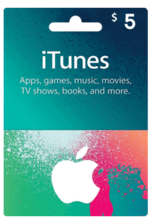 Apple iTunes Gift Card US 5$