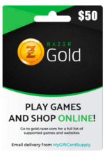 Razer Gold 50$ USA Gift Card