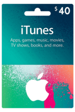 Apple iTunes Gift Card US 40$