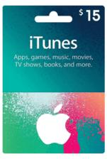 Apple iTunes Gift Card US 15$