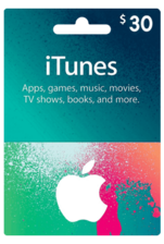 Apple iTunes Gift Card US 30$