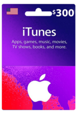 Apple iTunes Gift Card US 300$