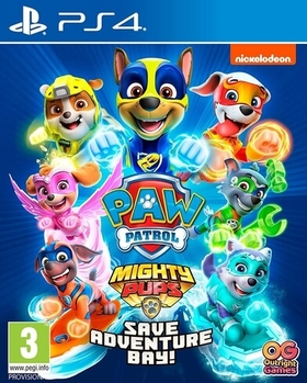 PAW PATROL MIGHTY PUPS SAVE ADVENTURE BAY (PS4) USED